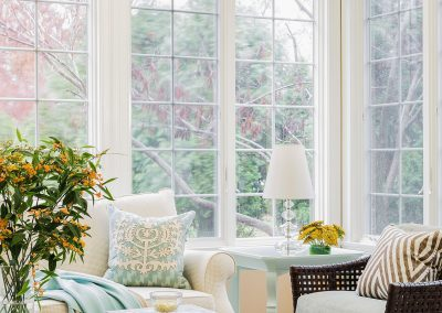 Cheery Sunroom